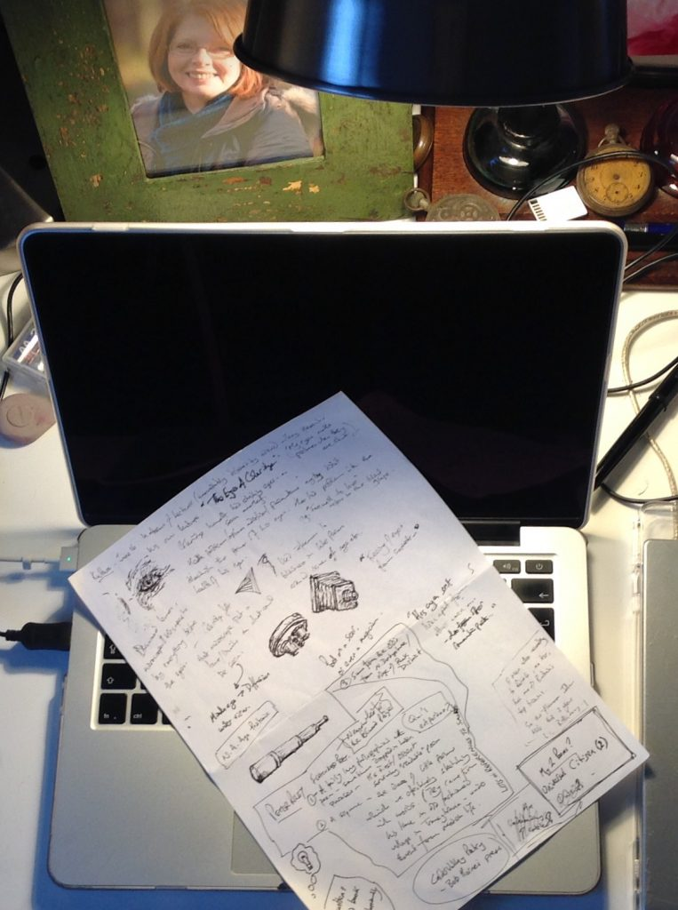 Image of: My notes from Culture ready to be typed up