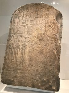 Photo of ancient Egyptian tablet