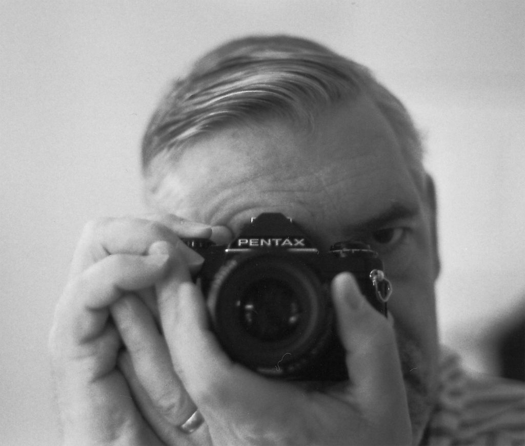 Self portrait with camera