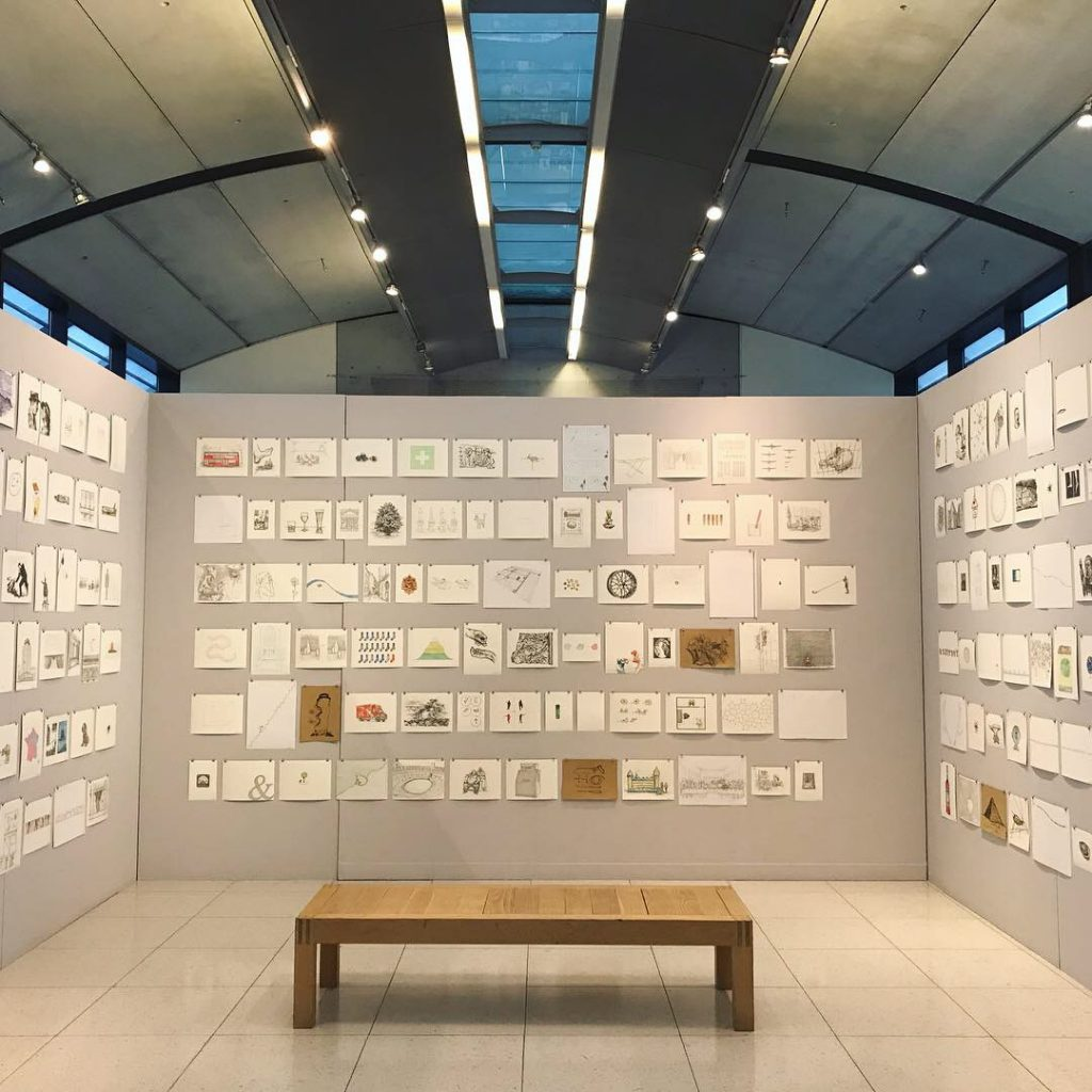 A picture of one section of the exhibition